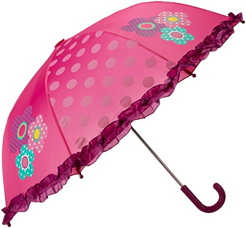 Western Chief Girls' Little Character Umbrella, Flower Cutie, One Size