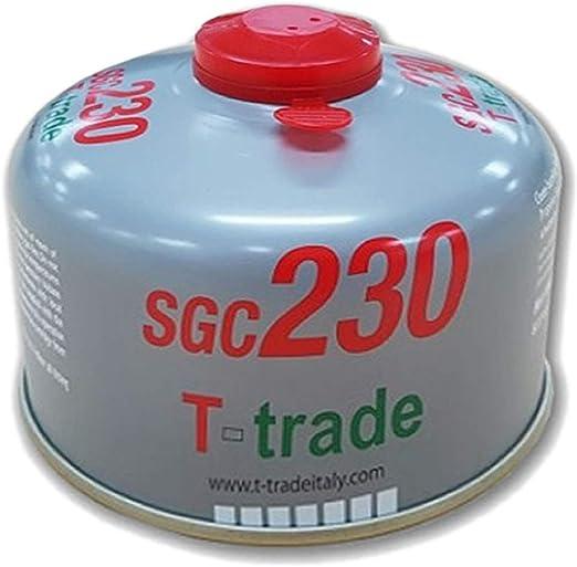 T-Trade - Bombona de Gas butato SGC230 con Casquillo de ...