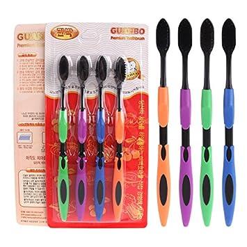 CWAIXX Una tienda todos los días _ De la exportación 4 Cepillo de dientes de oro