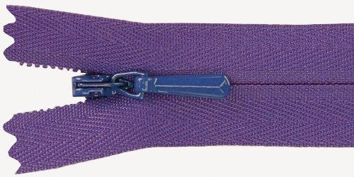 Unique Zipper Invisible - Unique Invisible Zipper 22 Inch -Purple