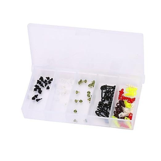 40 Stück Boilie Haken Stopper Kunststoff Perlen Schwimmende Angelzubehör