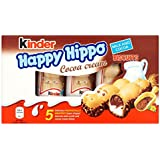 """Kinder """"Happy Hippo"""" Cocoa Cream Biscuits : Pack of 5 Biscuits"""