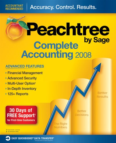 amazon com peachtree complete accounting 2008 rh amazon com Pro Evolution Soccer 2009 Pro Evolution Soccer Games