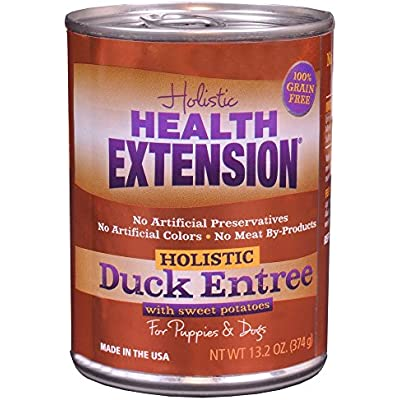 Health Extension Duck Entree Can Dog Food 12 Pack