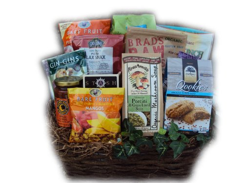 Organic Get Well Gift Basket - Cancer Patient by Well Baskets
