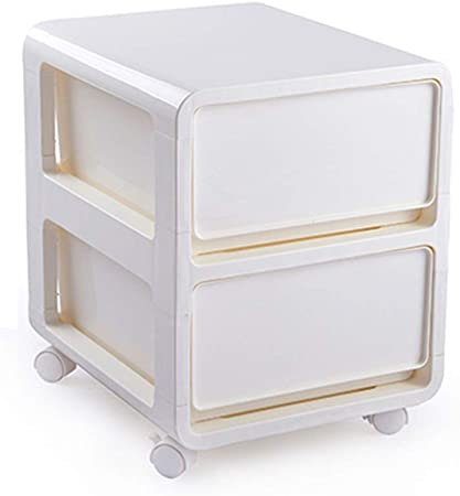 La gaveta de almacenamiento caja de juguetes de plástico de acabado del gabinete ropa de la
