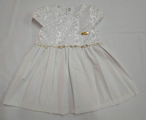 Vestido De Lese 247 Branco Nana Nenem Tamanhomcorbranco
