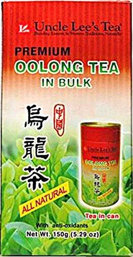 Uncle Lee's Tea, Premium Oolong Tea in Bulk, 5.29 oz (150 g) by Uncle Lee's Tea by UNCLE LEE'S TEA