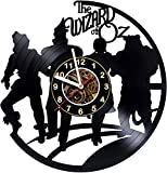 kidsroom design ideas  The Wizard of Oz - World Decor Vinyl Record Wall Clock - Exciting kidsroom Decor idea for Children, Adults, Men and Women