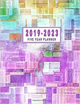 5 Year Calendar Starting 2019 Five Year Planner 2019 2023: 2019 2023 Monthly Planner | 2019 2023