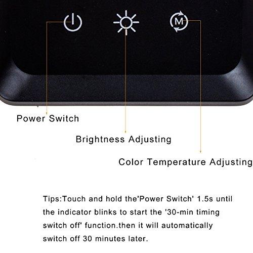 Kedsum Dimmable Led Desk Lamp 6w Flexible Gooseneck 3