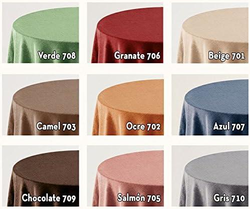 Falda para Mesa Camilla Modelo Deluxe 793, Color Beige 701, Medida ...