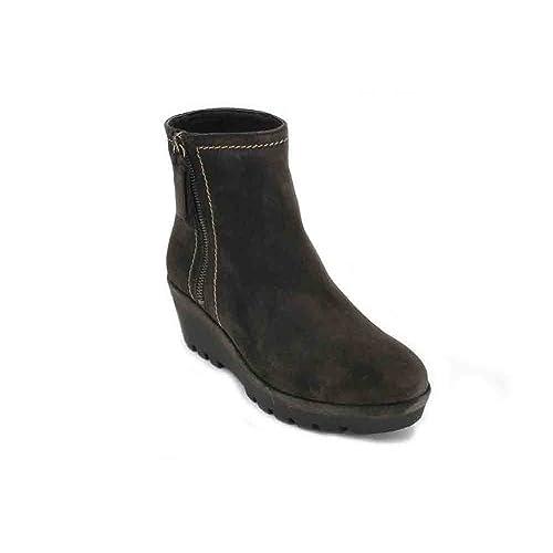 Alpe Botines Mujeres 3417 - 39, SERRAJE GRIS: Amazon.es: Zapatos y complementos