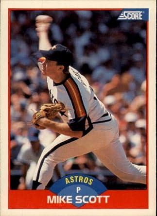 Amazoncom 1989 Score Baseball Card 550 Mike Scott Mint