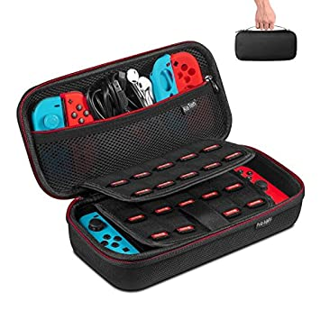 Carrying Case For Nintendo Switch Keten Switch Case With 19 Game