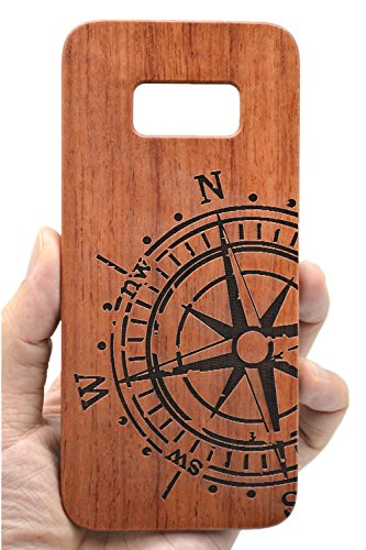 VolksRose Samsung Galaxy S8 Plus Wooden Case – Premium Quality Natural Wood Cover for Your Smartphone