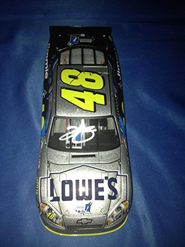 JIMMIE JOHNSON SIGNED Auto 2011 LOWE'S JIMMIE FOUNDATION 1/24 Diecast COA - Autographed Diecast Cars