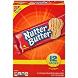Nutter Butter Peanut Butter Sandwich Cookies, 12-Pack Box (Pack of 4)