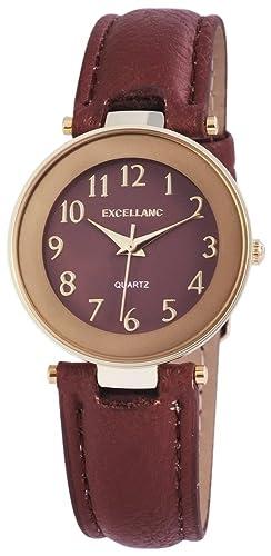 Pulsera de cuero de imitación con Excel lanc nanoclipz: Amazon.es: Relojes