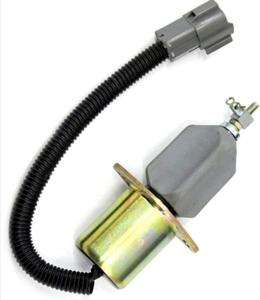 Replaces SA-4673-S In USA SA-4673S 1751ES-12A3UC12B1 for Yanmar Engine Hyundai Small Excavator 129953-77811 Hold Solenoid HWS0233