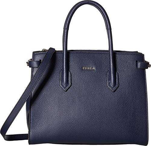 Furla Women's Pim Small Tote East/West Navy One Size