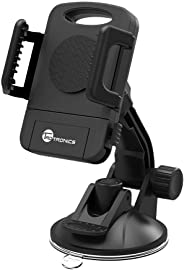 TaoTronics Car Phone Mount, Car Mount, Car Windshield / Dashboard Universal Smart Phone Mount Holder, Car Cradle for iPhone