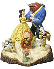 Enesco 4031487 figuur Disney Tradition Tale As Old As Time, Carved By Heart Beauty & The Beast figuur, 16,5 x 17,8 x 19,7 cm