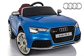 lizenziert Kinderfahrzeug 12V Akku und 2 Motoren Elektro Auto Audi TTRS