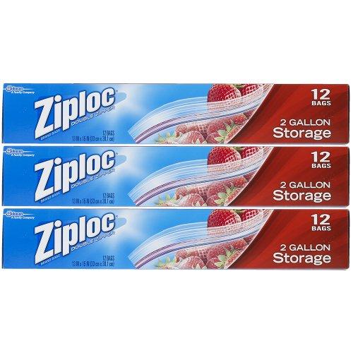 Ziploc Storage Bags - 2 Gallon Size