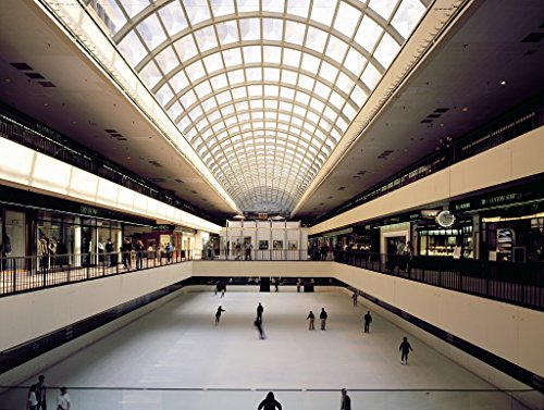 24 x 36 Giclee print of Skating rink inside Galleria Mall Houston Texas r31 [between 1980 and 2006] by Highsmith, Carol - Houston Texas Mall