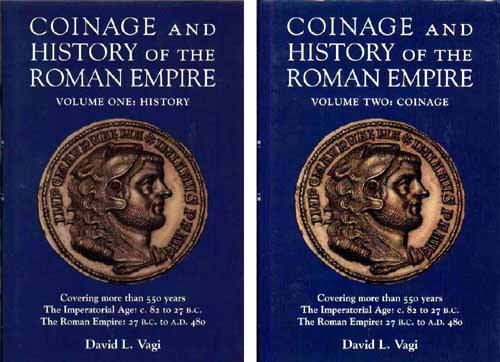 Coinage and History of the Roman Empire (2 Volume - Cascadian Set