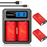 Xbox One Batteries, FARSAIL 4-Pack Xbox One
