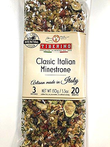 Tiberino's Real Italian Meals - Classic Italian Minestrone by Tiberino