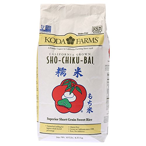 Koda Farms Sho-Chiku-Bai Sweet Rice, 10 Pound by Koda Farms