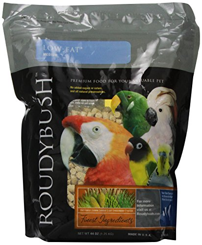 Roudybush Low Fat Bird Food, Medium, 44-Ounce ()