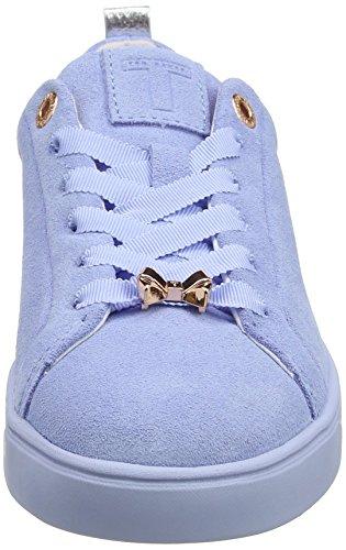 0000ff Mujer Baker Azul Light Blue Zapatillas Kelleis para Ted UCATOwgqW