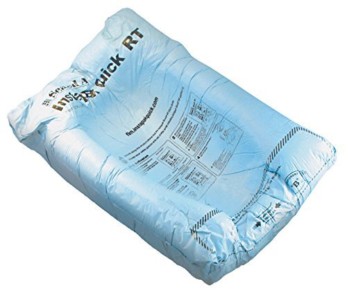 Instapak Quick Room Temperature Expanding Foam Packaging Bag (#10, 15-Inch x 18-Inch, Case of 180) by Instapak Quick