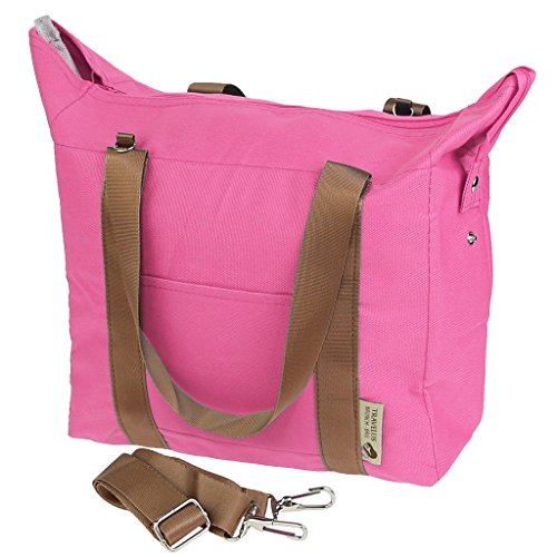 Thermal Insulated Waterproof Lunch Bag (Pink) - 1