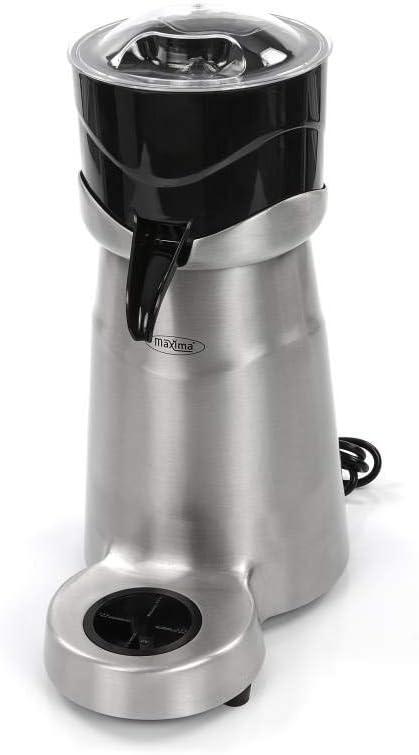 Maxima 09300028 Presse agrumes électrique en acier