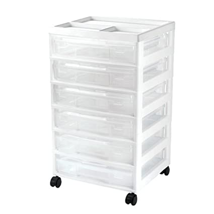 Amazon Iris Project And Scrapbook Carts 6 Case Chest With