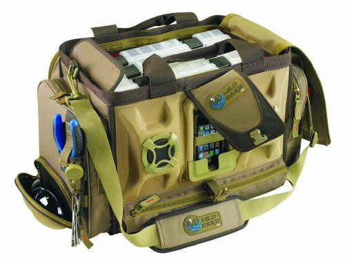 Wild River by CLC WT3701 Tackle Tek Rogue Stereo Speaker Bag with Four PT3700 - Sunglasses Ac Dc