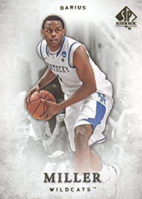 2012-13 SP Authentic Basketball #38 Darius Miller Kentucky Wildcats