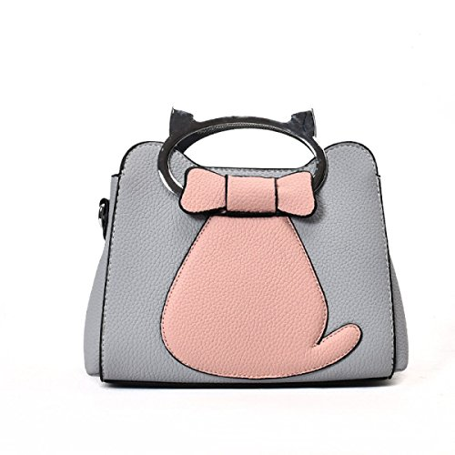 Bolso Nuevo Dibujos Animados Lindo Anillo Bolso Moda Personalizado Bolsa Gran Capacidad Hombro Messenger Bag Blue
