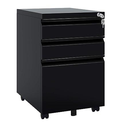 2963a2c7b81 Amazon.com   DEVAISE Locking File Cabinet