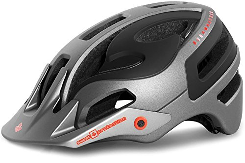 Blk Xl Helmet - Sweet Protection Bushwhacker II Bike Helmet-StSlGrMt/Blk-L/XL