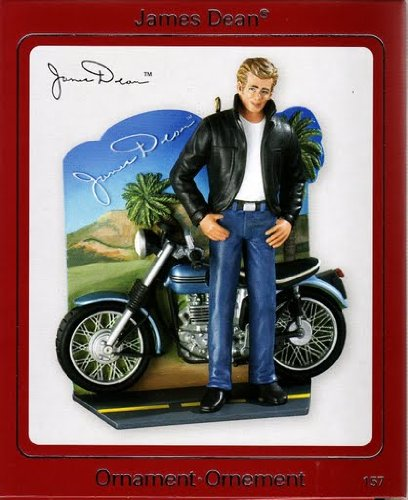 - James Dean With Motorcycle 2009 Carlton Ornament