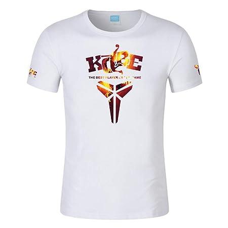 HS-QIAN1 Camiseta De Manga Corta Kobe Memorial De La NBA Camiseta ...