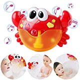 Xiangtat Crab Bath Bubble Maker Machine Automatic Bubble Blower Machine Baby Bath Toys Water Toys...