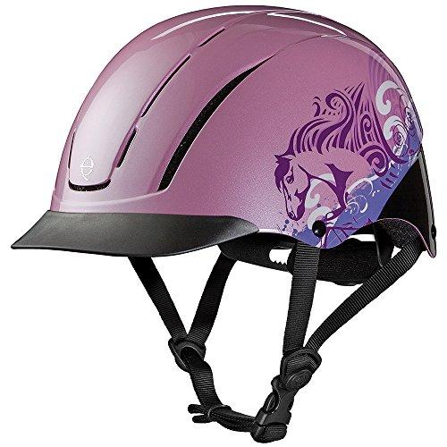 Troxel Spirit Performance Helmet, Pink Dreamscape, ()