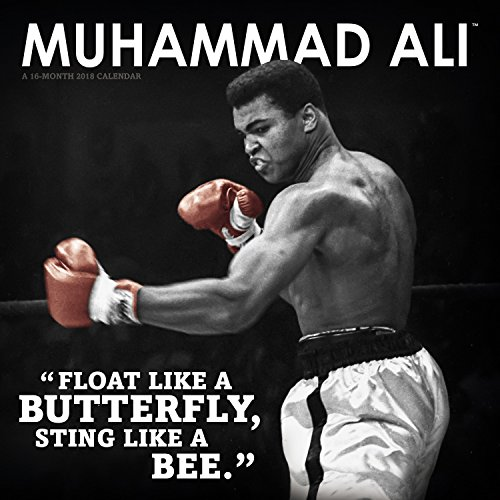 2018 Muhammad Ali Wall Calendar (Day Dream)
